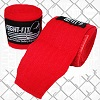 FIGHTERS - Boxbandagen / 300 cm / Unelastisch / Rot