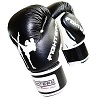 FIGHTERS - Boxhandschuhe / Competition Pro / Schwarz / 10 oz