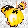 FIGHTERS - MMA Handschuhe / Elite / Gelb / Large